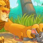 قصة الاسد والفأر