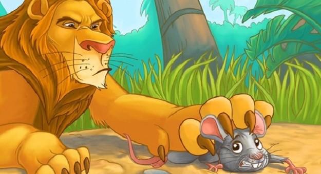 صورة قصة الاسد والفأر