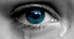 رؤية البكاء الشديد