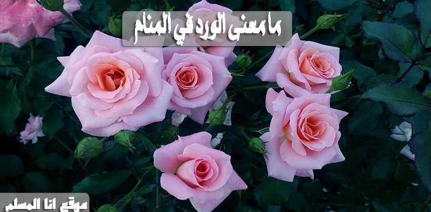 دلالات رؤية الورد في المنام