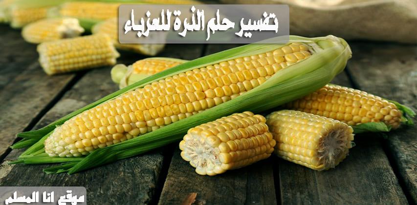 معنى الذرة في المنام